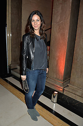 JULIA BRADBURY at the Warner Music Group & Ciroc Vodka Brit Awards After Party held at The Freemason's Hall, 60 Great Queen St, London on 24th February 2016.