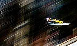 05.01.2016, Paul Ausserleitner Schanze, Bischofshofen, AUT, FIS Weltcup Ski Sprung, Vierschanzentournee, Training, im Bild Andreas Wellinger (GER) // Andreas Wellinger of Germany during his Practice Jump for the Four Hills Tournament of FIS Ski Jumping World Cup at the Paul Ausserleitner Schanze, Bischofshofen, Austria on 2016/01/05. EXPA Pictures © 2016, PhotoCredit: EXPA/ JFK