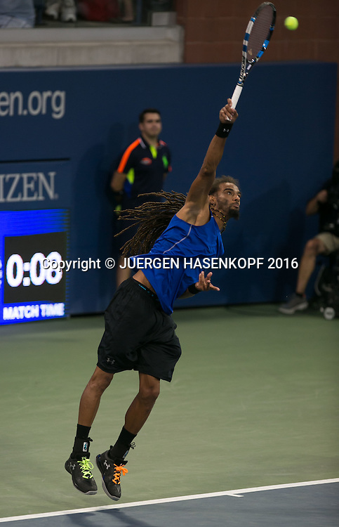 DUSTIN BROWN (GER)<br /> <br /> Tennis - US Open 2016 - Grand Slam ITF / ATP / WTA -  Flushing Meadows - New York - New York - USA  - 30 August 2016.