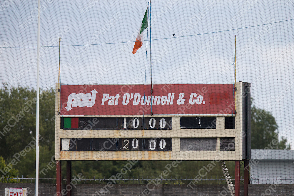Confusion with the scoreboard at Cusack Pk