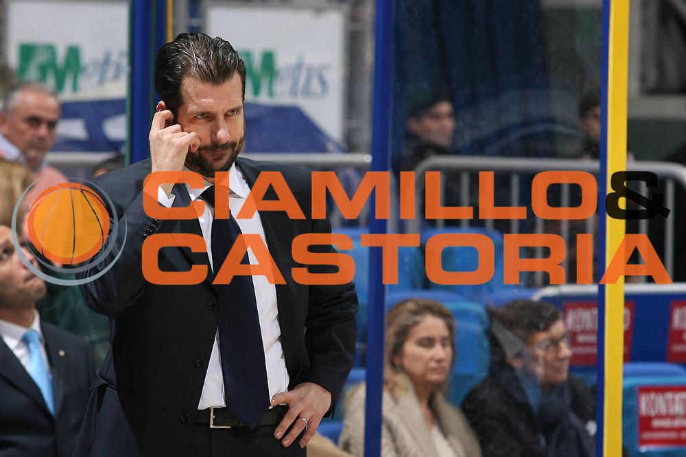 DESCRIZIONE : Bologna Uleb Cup 2007-08 Beghelli Fortitudo Bologna Dynamo Mosca<br /> GIOCATORE : Andrea Mazzon Pensieroso<br /> SQUADRA : Beghelli Fortitudo Bologna<br /> EVENTO : Uleb 2007-2008 <br /> GARA : Beghelli Fortitudo Bologna Dynamo Mosca<br /> DATA : 11/12/2007 <br /> CATEGORIA : Ritratto Delusione <br /> SPORT : Pallacanestro <br /> AUTORE : Agenzia Ciamillo-Castoria/M.Marchi <br /> Galleria : Uleb Cup 2007-2008 <br /> Fotonotizia : Bologna Uleb Cup 2007-2008 Beghelli Fortitudo Bologna Dynamo Mosca<br /> Predefinita :