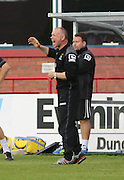 Inverness manager John Hughes  - Dundee v Inverness Caledonian Thistle in the Ladbrokes Premiership at Dens Park<br /> <br />  - &copy; David Young - www.davidyoungphoto.co.uk - email: davidyoungphoto@gmail.com