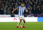 Huddersfield Town's Tommy Smith during the Premier League match between Huddersfield Town and West Ham United at the John Smiths Stadium, Huddersfield, England on 13 January 2018. Photo by Paul Thompson.
