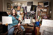 Carol was kind enough to be a part of my anti-consumerism project by sharing her story about how owning too many things has negatively affected her life. We did pull her stuff out of her closets and put it all on display to make this photograph. Her story, in her own words, can be found on my blog: http://memphisphotog.blogspot.com/2014/02/day-46-2014-project-365-carols.html.