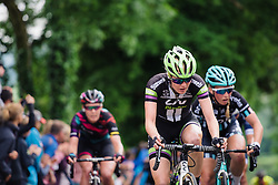 Rozanne Slik (Liv Plantur) at Aviva Women's Tour 2016 - Stage 5. A 113.2 km road race from Northampton to Kettering, UK on June 19th 2016.