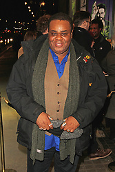 © Licensed to London News Pictures. 28/01/2015, UK. The Ruling Class - Gala Night, Trafalgar Studios, London UK, 28 January 2015; Clive Rowe. Photo credit : Brett D. Cove/Piqtured/LNP