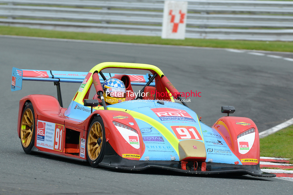 #91 David FRANKLAND SR3 RSX during Radical Sprint Championship as part of the MSVR Oulton Park  20th June 2015 at Oulton Park, Little Budworth, Cheshire, United Kingdom. June 20 2015. World Copyright Taylor/PSP. Copy of publication required for printed pictures.  Every used picture is fee-liable. http://archive.petertaylor-photographic.co.uk