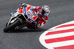 June 9, 2017 - Barcelona, Catalonia, Spain - 04 Andrea Dovicioso from Italy of Ducati Team (Ducati) during the Monter Energy Catalonia Grand Prix, at the Circuit de Barcelona-Catalunya on June 9 of 2017. (Credit Image: © Xavier Bonilla/NurPhoto via ZUMA Press)