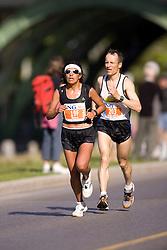 Ottawa, Ontario ---25/05/08--- Julia Rivera runs during the ING Ottawa Marathon, May 26, 2008..GEOFF ROBINS /
