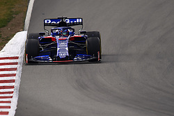 February 19, 2019 - Barcelona, Barcelona, Spain - Alexander Albon of Thailand driving the (23) Red Bull Toro Rosso Honda STR14 during day two of F1 Winter Testing at Circuit de Catalunya on February 19, 2019 in Montmelo, Spain. (Credit Image: © Jose Breton/NurPhoto via ZUMA Press)