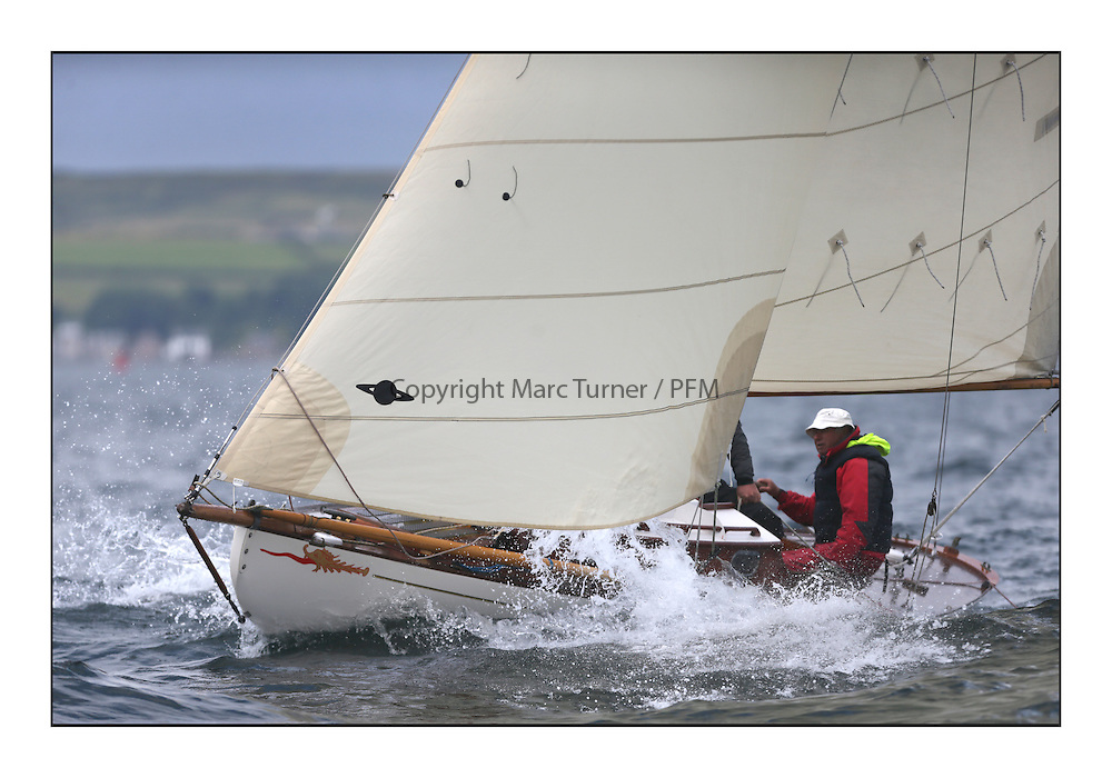The final day of racing of the Fife Regatta on the King's Course North of Great Cumbrae<br /> <br /> Mignon, Bob Fisher, GBR, Bermudan Sloop, Wm Fife 3rd, 1898<br /> <br /> * The William Fife designed Yachts return to the birthplace of these historic yachts, the Scotland&rsquo;s pre-eminent yacht designer and builder for the 4th Fife Regatta on the Clyde 28th June&ndash;5th July 2013<br /> <br /> More information is available on the website: www.fiferegatta.com