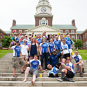 June 14, 2014 - Maine : Day Two - Team Photos at Colby College. Scenes from the 30th Annual Trek Across Maine, a fundraiser of the American Lung Association. CREDIT: Karsten Moran for the American Lung Association of Maine