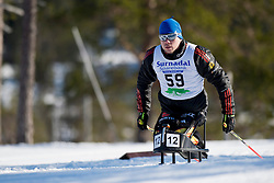 HAUCH Max, GER, Middle Distance Cross Country, 2015 IPC Nordic and Biathlon World Cup Finals, Surnadal, Norway