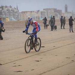 09-12-2018: Wielrennen: EK beachrace: Scheveningen<br />Ramon Sinkeldam