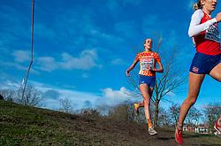 09-12-2018 NED: SPAR European Cross Country Championships, Tilburg<br /> Karoline Bjerkeli Grovdal NOO, Susan Krumins NED