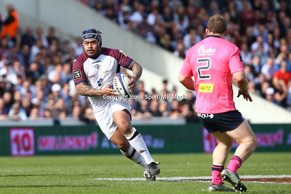 Wayne Avei  - 07.03.2015 -  Begles Bordeaux / Stade Francais -  19eme journee de Top 14<br />