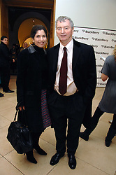 KIMBERLEY FORTIER and her husband STEPHEN QUINN at a private view of Bryan Adam's photographs entitled 'Modern Muses' held at The National Portrait Gallery, London on 11th March 2008.<br /><br />NON EXCLUSIVE - WORLD RIGHTS