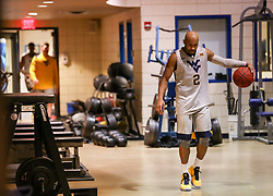 Jan 15, 2018; Morgantown, WV, USA; West Virginia Mountaineers guard Jevon Carter (2) walks out of the locker room before their game against the Kansas Jayhawks at WVU Coliseum. Mandatory Credit: Ben Queen-USA TODAY Sports