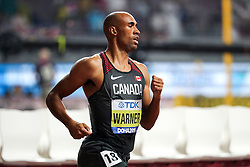 2019 IAAF World Athletics Championships held in Doha, Qatar from September 27- October 6<br /> Day 7 Canada decathlon
