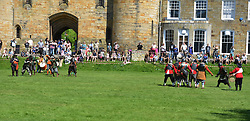 May 5, 2018 - London, London, United Kingdom - English Civil War skirmishes come to Tonbridge. The English Civil War Society and the Tonbridge Town Team re-enacts 1643 skirmishes between parliamentary troops and rebel royalists at Tonbridge Castle, Kent, over the Bank holiday weekend. (Credit Image: © Howard Jones/i-Images via ZUMA Press)
