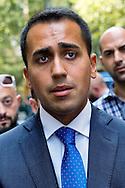 Luigi Di Maio, Movimento Cinque Stelle, Vicepresidente della Camera dei Deputati .<br /> Vice-President of the Chamber Luigi Di Maio,  Movement 5 Stars
