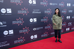 Judges photocall at Edinburgh International Film Festival<br /> <br /> Pictured: Yung Kha, Publicity, Dogwoof (International Jury)