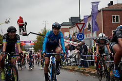 Mavi Garcia (ESP) crosses the line at Ladies Tour of Norway 2018 Stage 2, a 127.7 km road race from Fredrikstad to Sarpsborg, Norway on August 18, 2018. Photo by Sean Robinson/velofocus.com