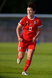 NEWPORT, WALES - Tuesday, June 12, 2018: Wales' Angharad James during the FIFA Women's World Cup 2019 Qualifying Round Group 1 match between Wales and Russia at Newport Stadium. (Pic by David Rawcliffe/Propaganda)