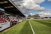 The Lamex Stadium prior to the Sky Bet League 2 match between Stevenage and York City at the Lamex Stadium, Stevenage, England on 12 September 2015. Photo by Simon Davies.