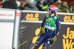Irene Curtoni (ITA) during second run at the Ladies' Slalom at 56th Golden Fox event at Audi FIS Ski World Cup 2019/20, on February 16, 2020 in Podkoren, Kranjska Gora, Slovenia. Photo by Matic Ritonja / Sportida