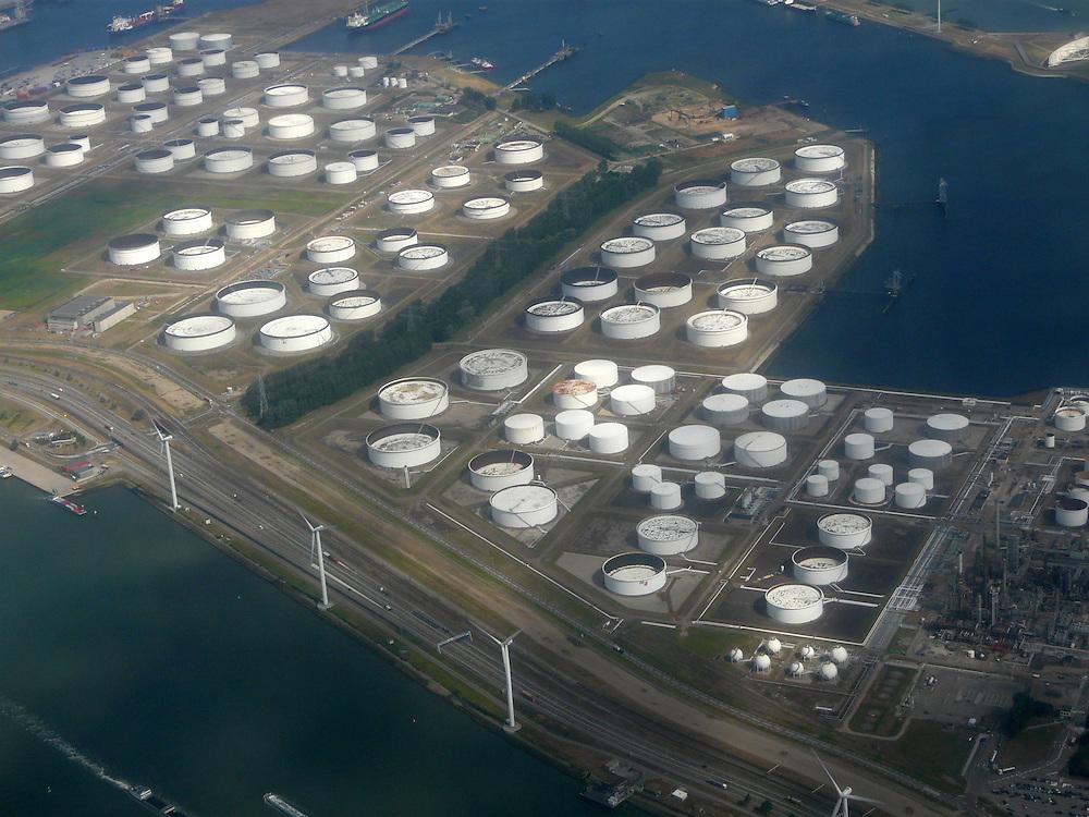EN&gt; aereal image of Europoort |<br /> SP&gt; imagen de Europort