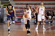 Aaron Thomas<br /> Virtus Roma - Basket Scafati<br /> Campionato Basket LNP 2017/2018<br /> Roma 15/10/2017<br /> G.Masi / Ciamillo-Castoria