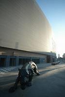 BRAGA-12 DEZEMBRO:PANTHER symbol of Boavista; Est‡dio do Bessa, reconstruido para albergar a equipa da primeira liga Boavista F.C. e o EURO 2004 12-12-2003 (PHOTO BY: AFCD/JOSƒ GAGEIRO)
