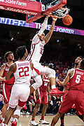 FAYETTEVILLE, AR - MARCH 9:  Daniel Gafford #10 of the Arkansas Razorbacks goes up for a dunk during a game against the Alabama Crimson Tide at Bud Walton Arena on March 9, 2019 in Fayetteville, Arkansas.  The Razorbacks defeated the Crimson Tide 82-70.  (Photo by Wesley Hitt/Getty Images) *** Local Caption *** Daniel Gafford