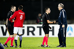 October 5, 2017 - San Marino, SAN MARINO - 171005 Lars LagerbÅck, head coach of Norway, after the FIFA World Cup Qualifier match between San Marino and Norway on October 5, 2017 in San Marino. .Photo: Fredrik Varfjell / BILDBYRN / kod FV / 150027 (Credit Image: © Fredrik Varfjell/Bildbyran via ZUMA Wire)