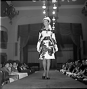 13/11/1967<br /> 11/13/1967<br /> 13 November 1967<br /> Irish Leather Federation, Leather Fashions at the Gresham Hotel, Dublin.<br /> Natural Calf Skin coat by Suedes of Ireland.