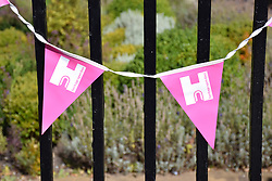 Heritage Open Day bunting, Norwich Sep 2019