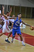 DESCRIZIONE : Porec Amichevole Croazia Italia<br /> GIOCATORE : danile hackett<br /> CATEGORIA : palleggio fallo<br /> SQUADRA : Nazionale Italia Maschile<br /> EVENTO : Amichevole Italia Croazia<br /> GARA : Italia Croazia<br /> DATA : 09/08/2012<br /> SPORT : Pallacanestro<br /> AUTORE : Agenzia Ciamillo-Castoria/C.De Massis<br /> Galleria : FIP Nazionali 2012<br /> Fotonotizia :  Trieste Amichevole Croazia Italia<br /> Predefinita :