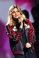 "PARIS, FRANCE - FEBRUARY 12:  Louane performs during ""Les Victoires De La Musique"" at Le Zenith on February 12, 2016 in Paris, France.  (Photo by Tony Barson/FilmMagic)"