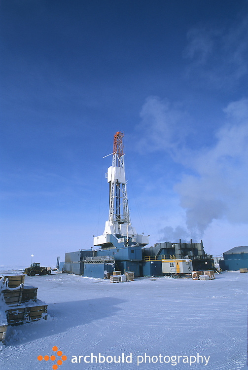 Western Arctic Oil drilling rig<br /> <br /> NOT IN YOUR BUDGET? Contact Cathie for a price specific to your project.