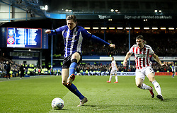 Sheffield Wednesday's Adam Reach in action with Sheffield United's Enda Stevens