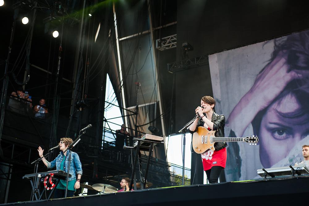 Tegan and Sara at Lollapalooza