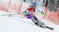 04.02.2011, Arber Zwiesel, GER, FIS World Cup Ski Alpin, Lady, Slalom, im Bild Veronika Zuzulova (SVK, #12) // Veronika Zuzulova (SVK) // during FIS Ski Worldcup ladies Slalom at Arber Zwiesel, Germany on 04/02/2011. EXPA Pictures © 2011, PhotoCredit: EXPA/ R. Hackl