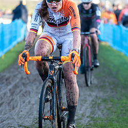 2019-12-27 Cycling: dvv verzekeringen trofee: Loenhout: German national champion Elisabeth  Brandau