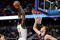 Real Madrid's Othello Hunter duringTurkish Airlines Euroleague match between Real Madrid and FC Barcelona Lassa at Wizink Center in Madrid, Spain. March 22, 2017. (ALTERPHOTOS/BorjaB.Hojas)