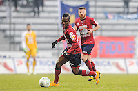Souleymane SAWADOGO - 24.01.2015 - Clermont / Chateauroux  - 21eme journee de Ligue2<br />