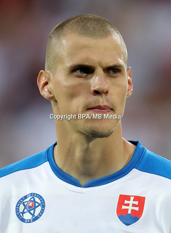 Uefa - World Cup Fifa Russia 2018 Qualifier / <br /> Slovakia National Team - Preview Set - <br /> Martin Skrtel