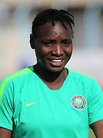 International Women's Friendly Matchs 2019 / <br /> Womens's Cyprus Cup Tournament 2019 - <br /> Nigeria v Thailand 3-0 ( Tasos Marko Stadium - Paralimni,Cyprus ) - <br /> Chinwendu Ihezuo of Nigeria