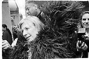 Marianne Faithful at Mark Jacobs, Plaza, New York fashion week1995© Copyright Photograph by Dafydd Jones 66 Stockwell Park Rd. London SW9 0DA Tel 020 7733 0108 www.dafjones.com
