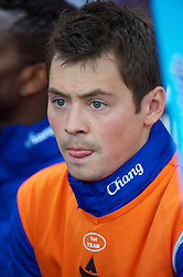 WOLVERHAMPTON, ENGLAND - Saturday, March 27, 2010: Everton's substitute Diniyar Bilyaletdinov before the Premiership match against Wolverhampton Wanderers at Molineux. (Photo by David Rawcliffe/Propaganda)